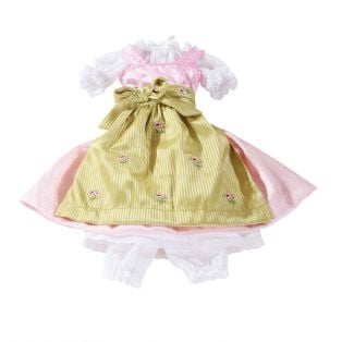Gotz Dirndl Dress (Gotz Vroni Doll), XL