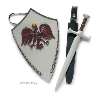 Carpatina Knight Accessories (Sword & Shield)
