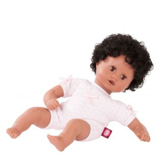 Gotz Little Muffin To Dress African Girl Doll, 33cm, S