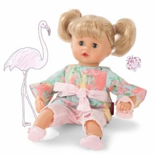 Gotz Little Muffin Jungle Blonde Doll, 33cm, S