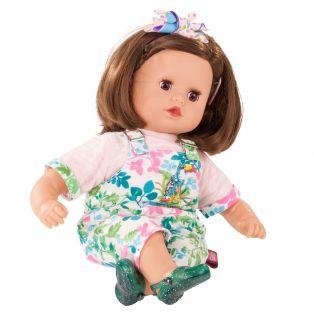 Gotz Little Muffin Brunette Blooms Doll 33cm, S