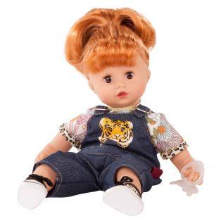 Gotz Little Muffin Red Hair Wild Cat Doll 33cm, S
