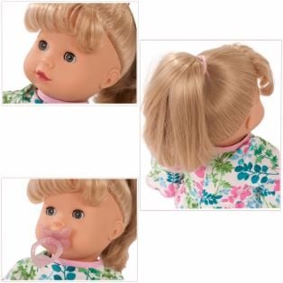 Gotz Maxy Muffin Baby Doll In Blooms, Blonde, 42cm, M alternate image