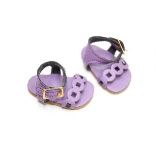 Vestida de Azul PAULINA Lilac Sandals