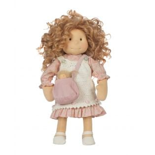 Ciao Bimba Waldorf Mini Darling Child Doll Nicky, 40cm  alternate image