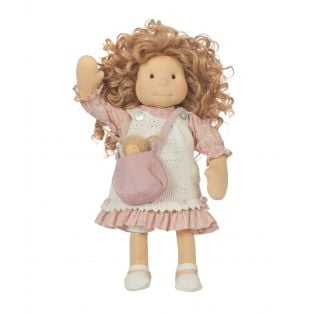 Ciao Bimba Waldorf Mini Darling Child Doll Nicky, 40cm