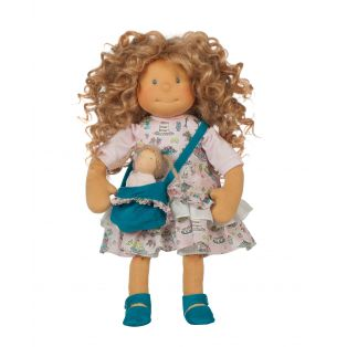 Ciao Bimba Waldorf Mini Darling Child Doll Adele, 40cm