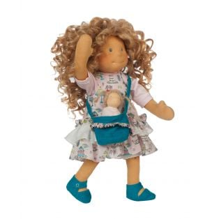 Ciao Bimba Waldorf Mini Darling Child Doll Adele, 40cm  alternate image
