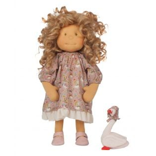 Ciao Bimba Waldorf Mini Darling Child Doll Ally, 40cm