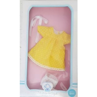 Vestida de Azul CARLOTA Yellow Dress Clothing 28cm