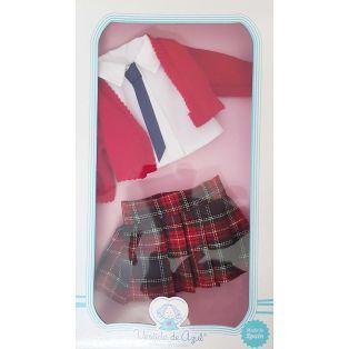 Vestida de Azul Paulina Schoolgirl CLOTHES SET 33cm   alternate image