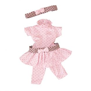 D'Nenes Marieta Pink Clothes Set 36cm
