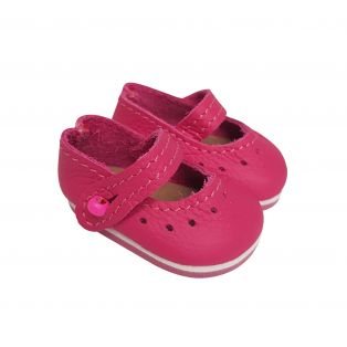 Wagner Doll Shoes Group 1 Style Louisa - FUCHSIA