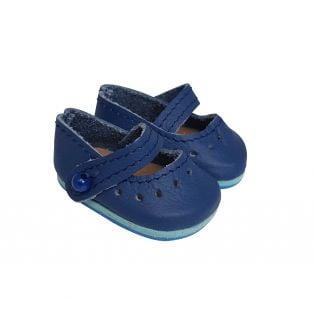 Wagner Doll Shoes Group 1 Style Louisa - BLUE