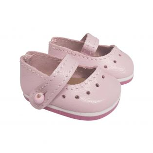 Wagner Doll Shoes Group 1 Style Louisa - PALE PINK