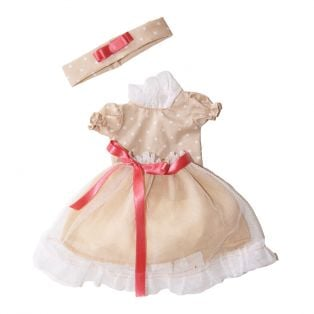 D'Nenes Marieta Cream Dress Set