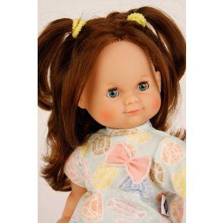 Schildkrot Schlummerle Bows With Brown Hair Baby Doll 32cm  alternate image