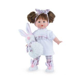 Marina & Pau Toddler Doll Tina 40cm Bunny Pyjamas
