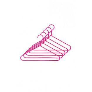 Doll Pink Coat Hangers