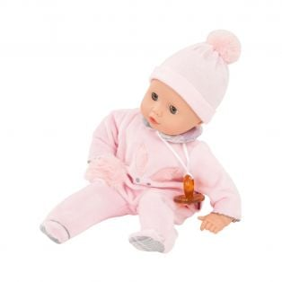Gotz Little Muffin With Dummy Without Hair Bunny Design 33cm, S