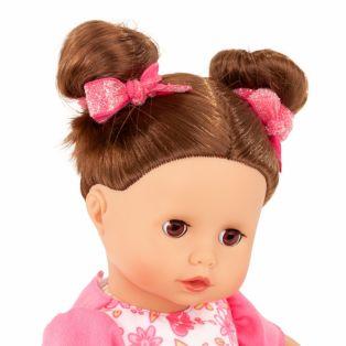 Gotz Little Muffin Baby Doll Stripe Vibes, Brunette, 33cm, S alternate image