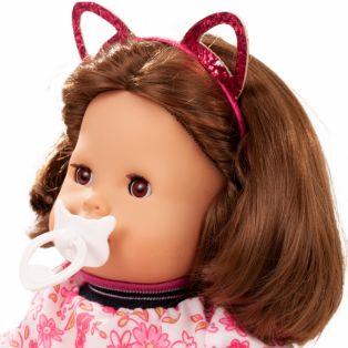 Gotz Maxy Muffin Baby Doll Stripe Vibes, Brunette, 42cm, M alternate image