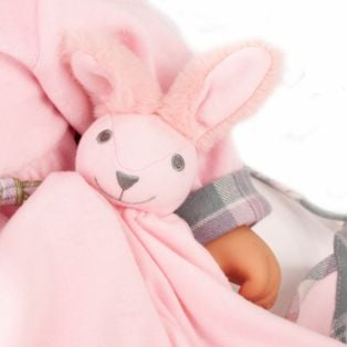 Gotz Cookie Care Baby Doll Bunny Design With Functions, L alternate image