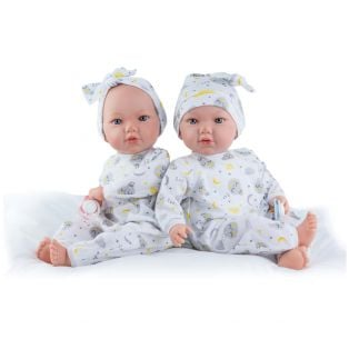 Marina & Pau 2 Piece Girl Moon Sleepsuit Set 43 -  45cm alternate image