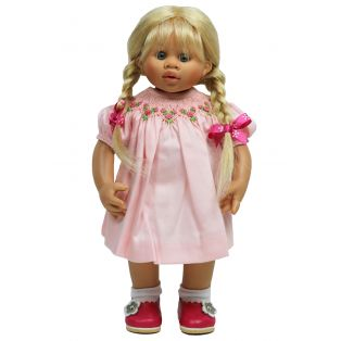 Boneka Rose Cotton Smock Dress 32cm/ 13
