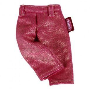 Style Me! - Gotz Pink Glittery Jeans, XS