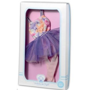 LAST ONE Vestida de Azul PAULINA Ballet Leotard, Tutu, Tights & Shoes 33cm