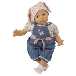 Schildkrot Baby Doll Julchen In Denim 52cm