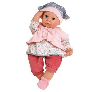 Schildkrot Baby Doll Julchen In Pink 52cm