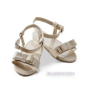Carpatina Ivory Sandals