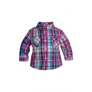 Sophia's Purple Plaid Shirt 45-50cm