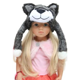 Wolf Hat- For Fashion - Or For Little Red Riding Hood Stories!