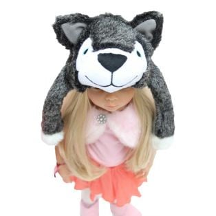 Wolf Hat- For Fashion - Or For Little Red Riding Hood Stories! alternate image