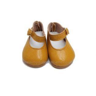 PAULINA Mustard Shoes