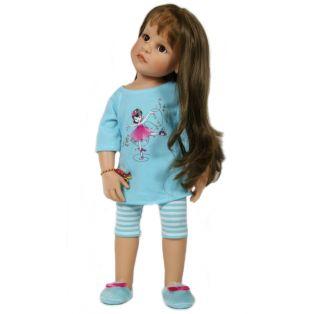 Sophia's Turquoise 3 Piece Ballerina Pyjama Set