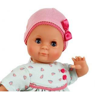 Schildkrot Schlummerle Turquoise & Hearts Baby Girl Doll 32cm  alternate image