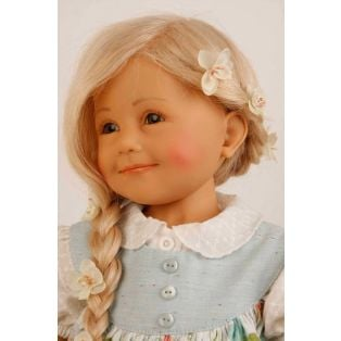 Schildkrot Jenny Frieske Doll Blonde Hair 65cm