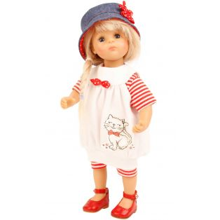 Schildkrot Lisa Frieske 28cm Blonde Doll