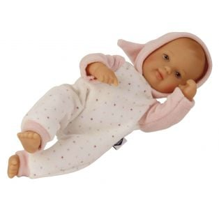 Schildkrot My First Baby Doll In Pink Nicky Velour 28cm