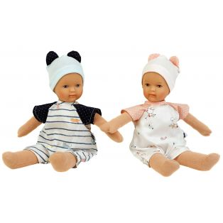 Schildkrot Schmuserle Fabric and Vinyl Baby Boy Doll Blue Eyes 28cm alternate image