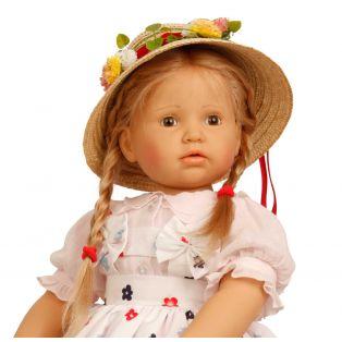 Schildkrot Anna Maria Paetsch Artist Doll 70cm