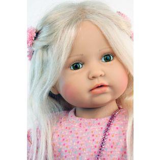 Schildkrot Anna Maria Paetsch Blonde Artist Doll 70cm