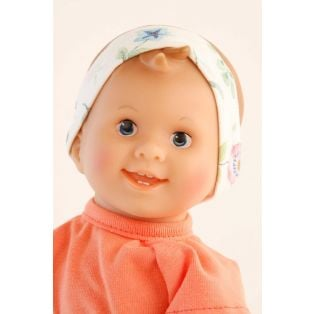 Schildkrot Lockchen Fabric and Vinyl Baby Doll Flower Power 30cm alternate image