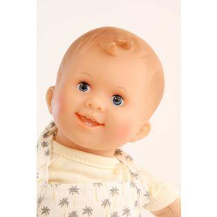 Schildkrot Lockchen Fabric and Vinyl Baby Doll Blue Eyes 30cm alternate image