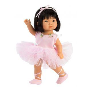 Llorens Asian Toddler Ballet Doll Lu, 28cm