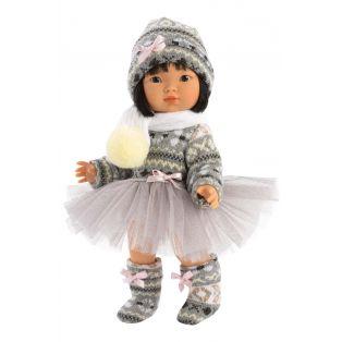 Llorens Asian Toddler Casual Dressed Doll Lu, 28cm